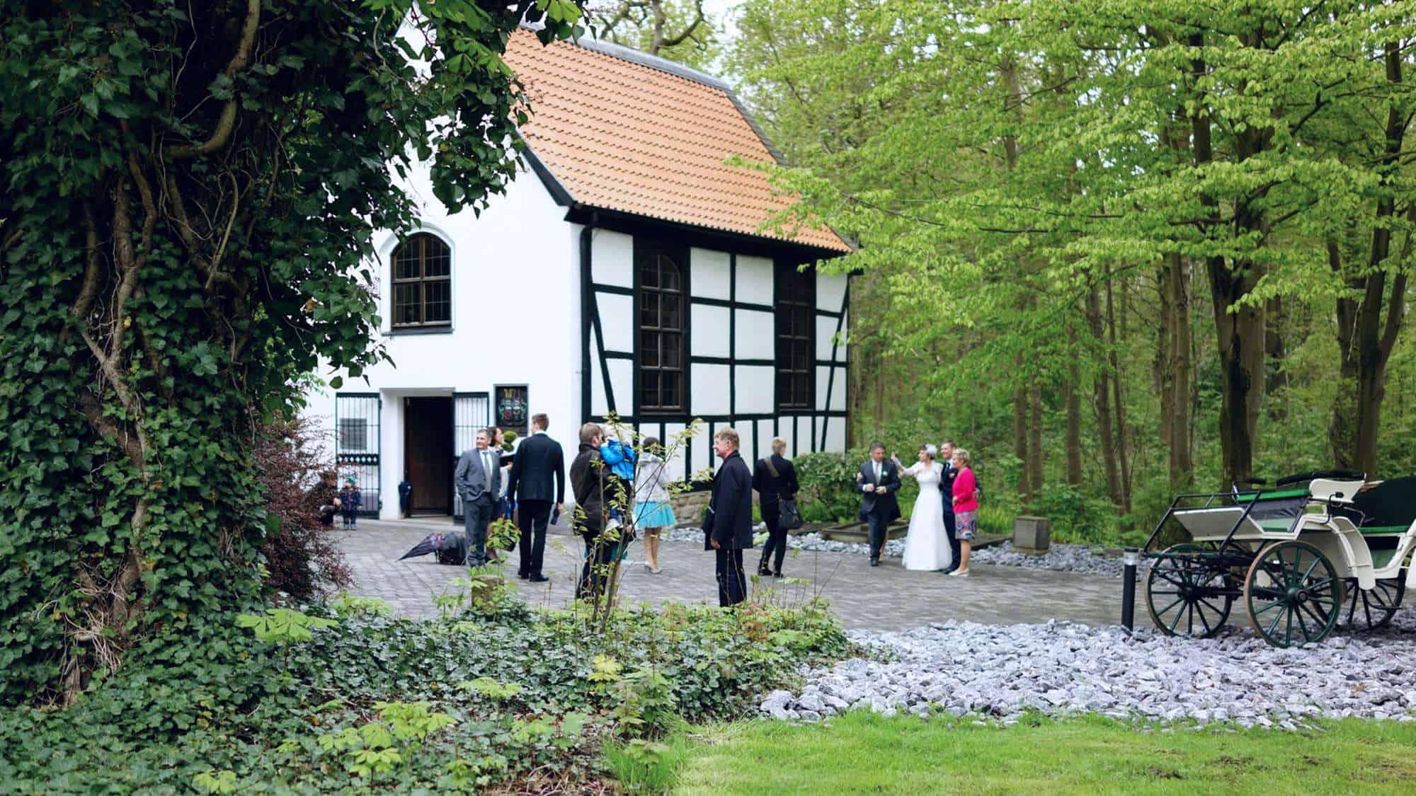 Freie Trauzeremonie in der Kapelle Wischlingen in Dortmund