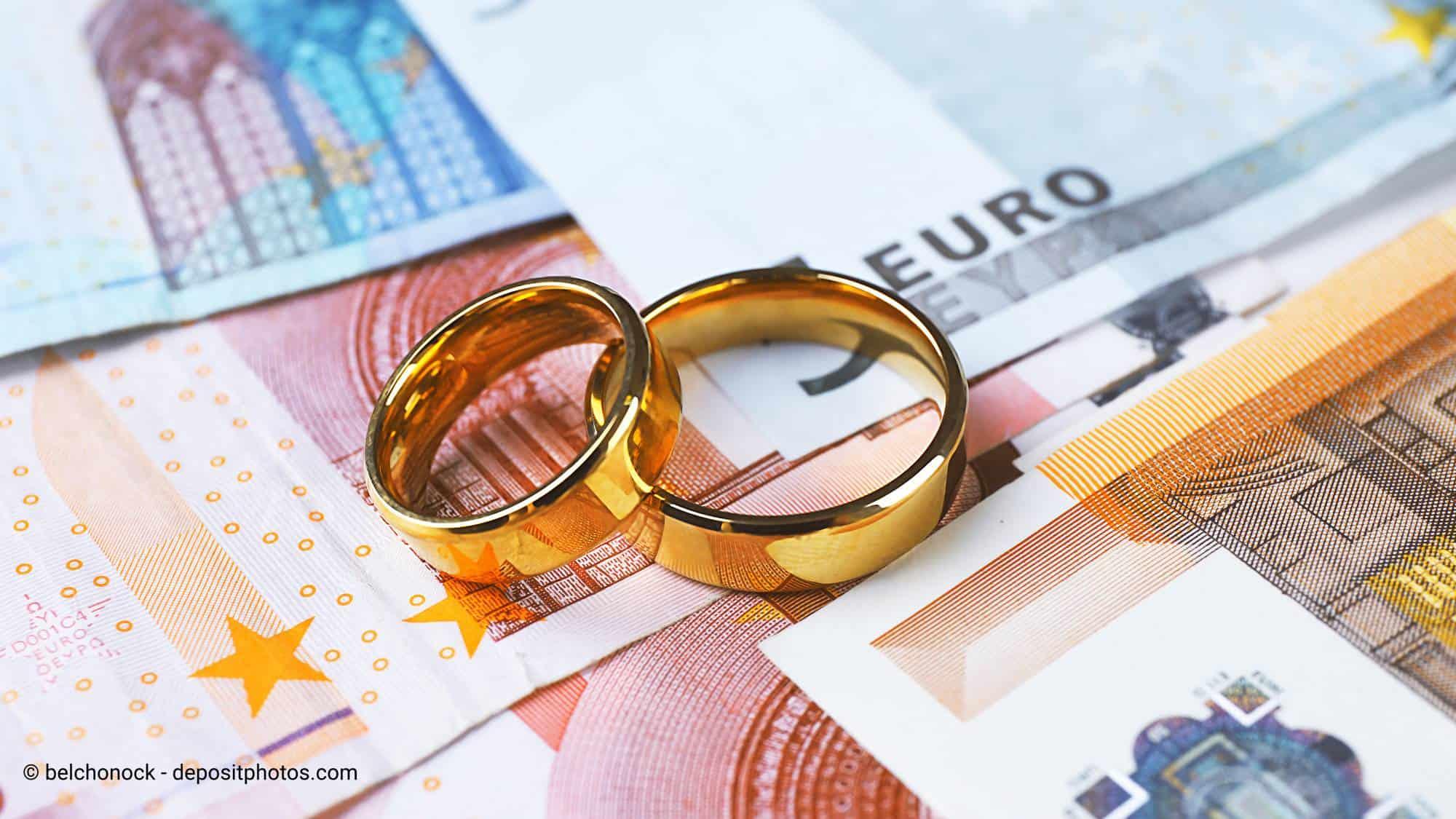 Budget für Hochzeit planen