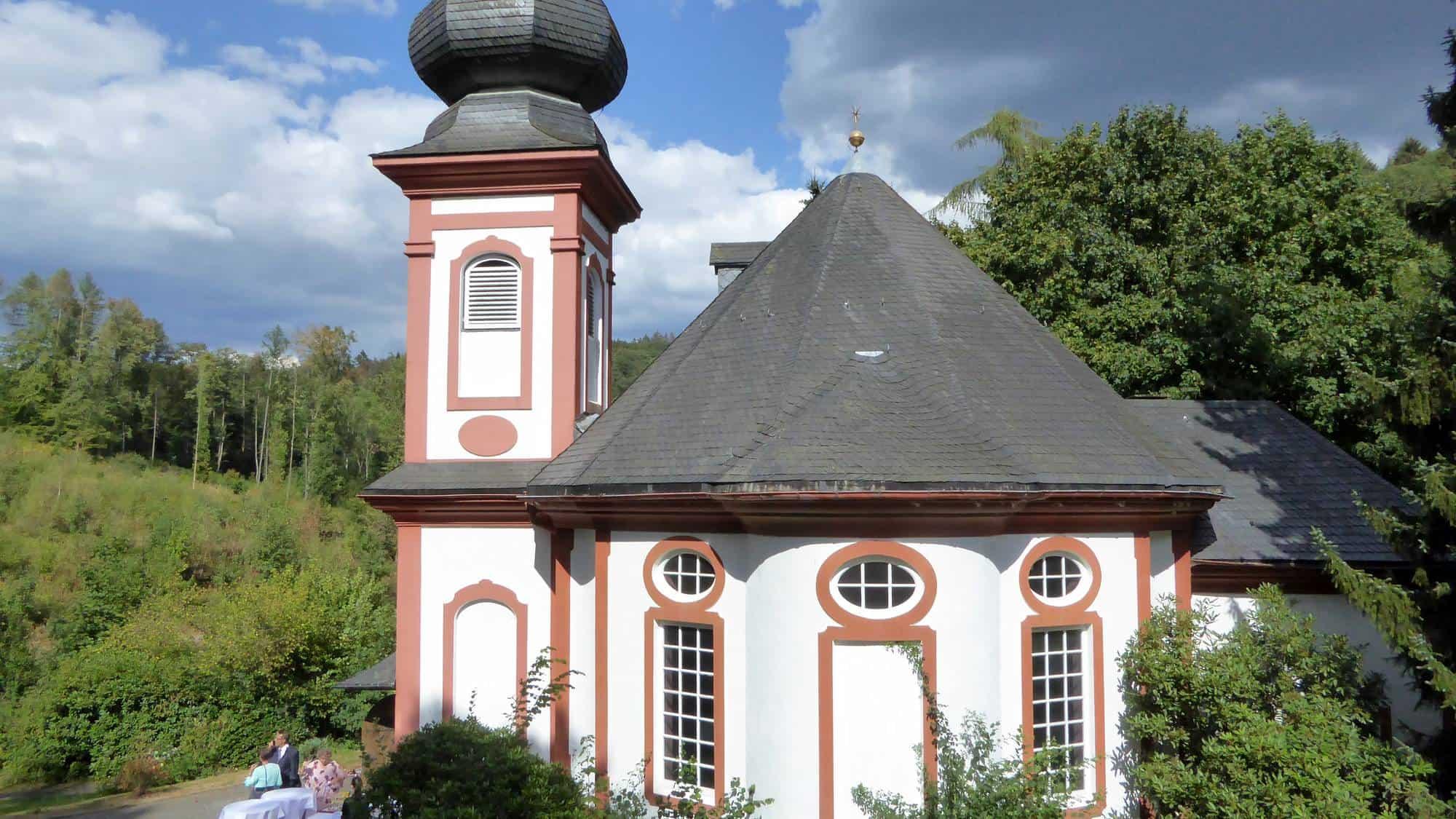 Eine Kapelle für freie Trauungen
