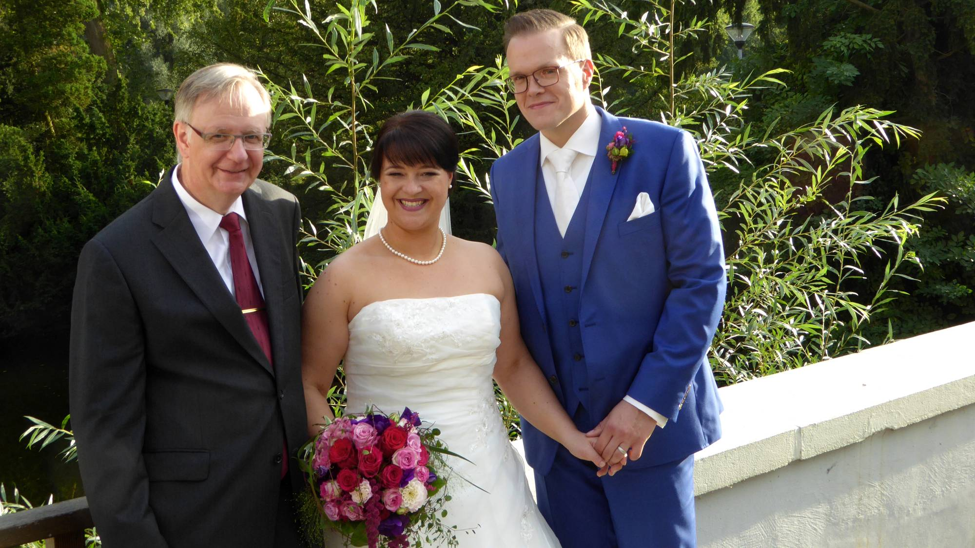 Freie Hochzeitszeremonie auf Schloss Berge in Gelsenkirchen
