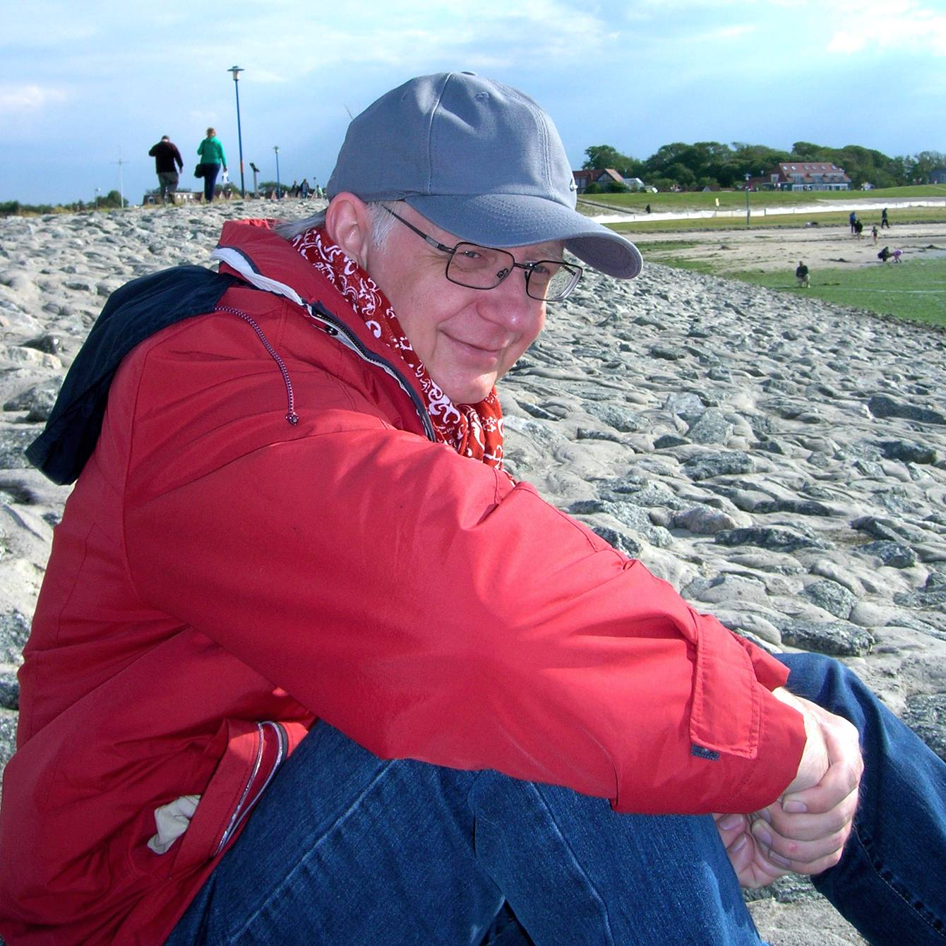 Reginald Müller an der Nordsee
